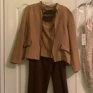 3 piece pants suit